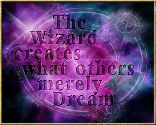 Wizard Creates
